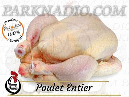 Livraison de poulets à Dakar