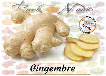 Ginger - Gingembre