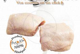 Haut de cuisses de poulet