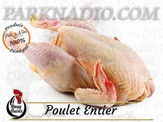 Livraison Poulet entier Halal surgelé Poulet prêt à cuire