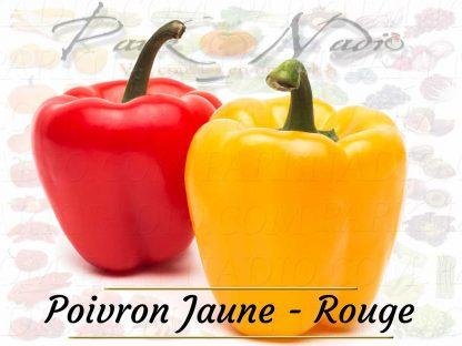 Poivron Jaune Rouge