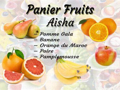 Livraison panier fruits frais
